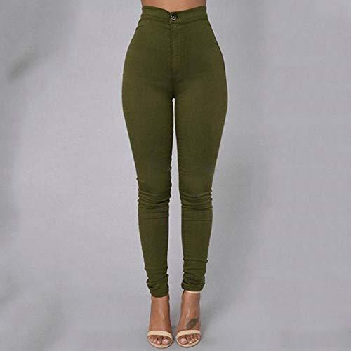 AOZLOVEC Leggings Mujer Fitness Casual Lápiz Pantalones Pantalones Ropa Leggins Gym Legins Anti celulitis XXXL greenleggings