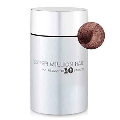 Super Million Hair - Fibres Capillaires Densifiantes pour Cheveux Clairsemés, Chute de Cheveux, 15g, Auburn (8)