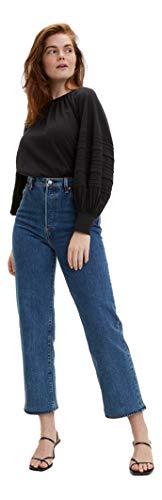 Levi's Ribcage - Pantalones vaqueros rectos para mujer - azul - 0 US