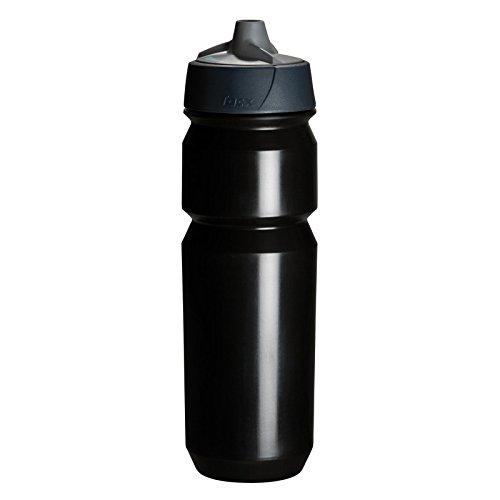 Tacx Trinkflasche Shanti 750 ml mit Membranverschluß, Schwarz, T5854