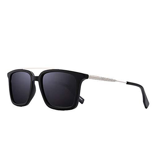 BXGZXYQ Gafas de Sol Estilo Retro clásicas cuadradas para Viaje, Unisex, polarizadas, protección UV 400 para Mujeres y Hombres Diseño de Moda clásico de Alta Gama, protección UV (Color : C3)