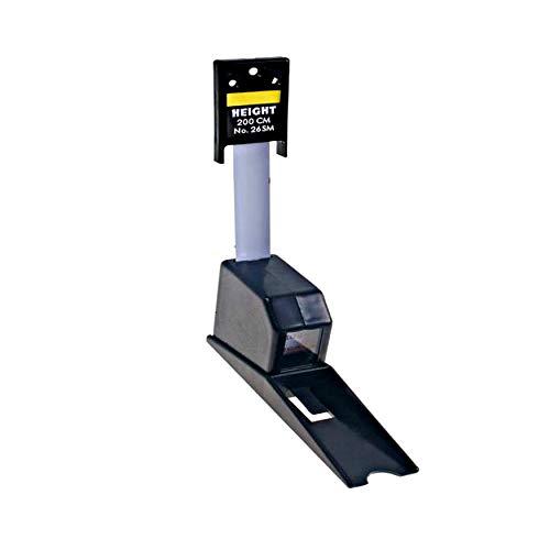 AnthroFlex Tallimetro Estadimetro Para Medir Estatura, Compacto para la Pared, Retractil, Rango200 CM, Medicion solo en CM, Ideal para Clinicas y Consultorios