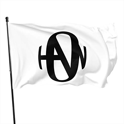 NOT BRAND ChenMingGao Home Decoration Hanson Garden Flag Indoor Outdoor Flag 3x5 FT Taille Unique Noir