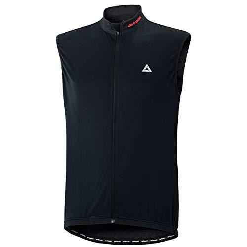 Airtracks Comfort Line Maillot de cyclisme fonctionnel sans manches Noir Taille XL