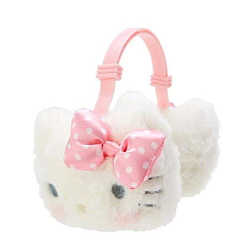 Nakajima Hello Kitty Fluffy Earmuffs - One Size