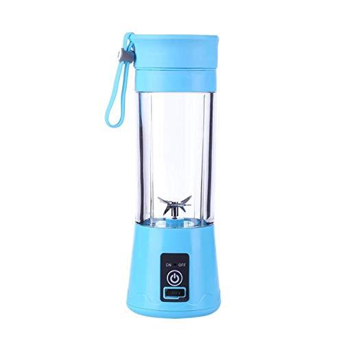 CHUN LING Portable Personal Blender, Household Juicer Fruit Shake Mixer -six Blades, 380ml Baby Cooking Machine, Smoothie Making