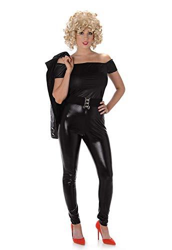 Costume da donna per travestimento, motivo: Sandy nell'ultima scena di Grease, stile anni 50