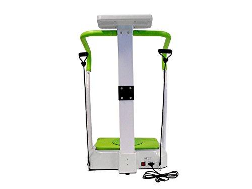 MAXOfit® Plateforme vibrante MF-26 avec écran et poignées. pour accroître Votre Force Musculaire et affiner Votre Silhouette