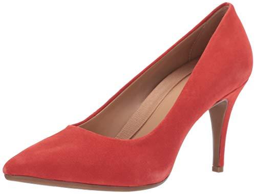 Aerosoles Deal Breaker Zapatos de tacón para Mujer, Anaranjado Ante, 5.5 US
