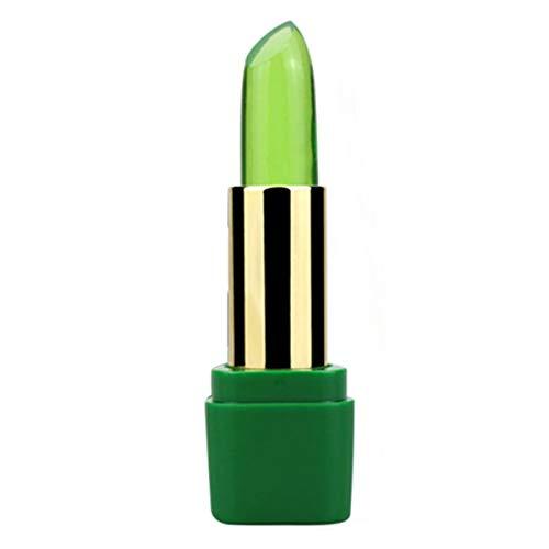 Aloe Vera Jelly Lippenstift Lang Make Lasting Moisturizer Lippenbalsam Lip Stick Lippen Farbe...
