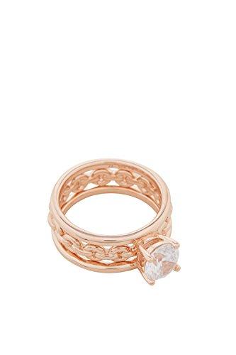 Esprit ESRG00261318 Damen Ring Rose weiß Zirkonia 17,8 mm Größe 56