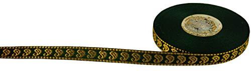 Guru-Shop Orient Bordüre, Borte aus Indien, 1,5 cm Breit, 1m, Webbänder & Bordüren