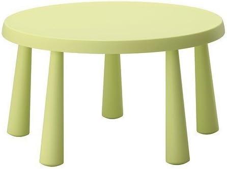 Ikea Mammut Bambino Tavolo Colore Verde Chiaro Amazon It Casa E Cucina