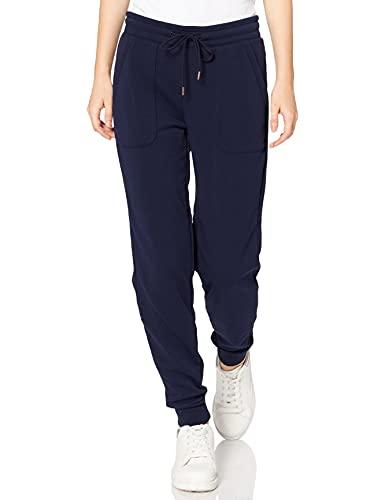 Marque Amazon - AURIQUE Jogger - Pantalon - Femme, Bleu (Navy), 38, Label:S