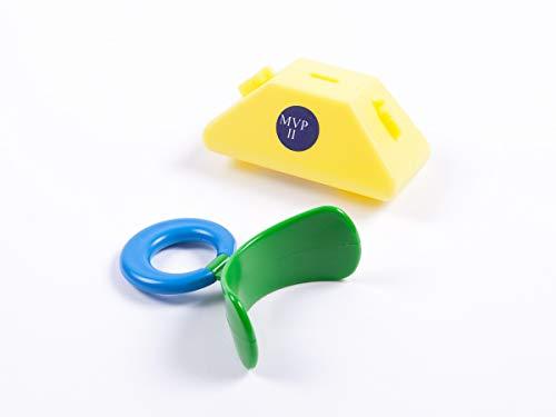 Mundvorhofplatte Standard, groß, grün/starr