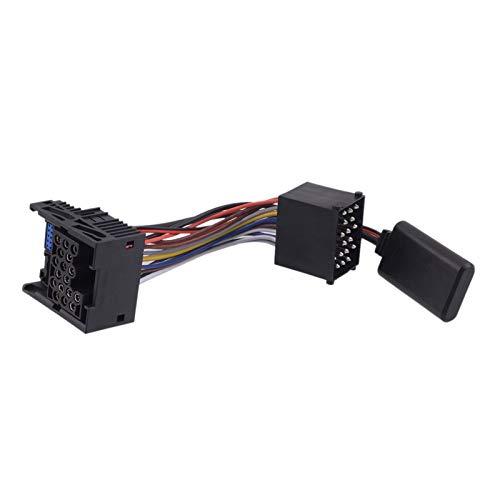 YYBLOVE YUYANGBIN Negro 5-12V 10PIN Bluetooth AUX Audio Radio Adaptador de Cable...