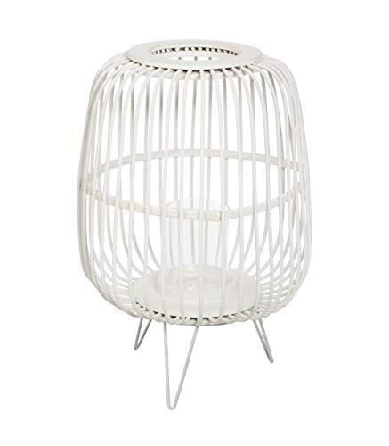 Atmosphera - Lanterne en Bambou sur Pied été Indien H 36 cm