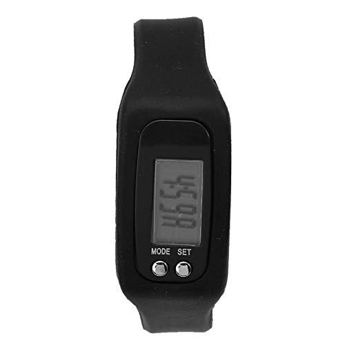 Inteligentny zegarek na bransoletce, plastikowy licznik kroków z tworzywa ABS trwała bransoletka sportowa, lekkie małe narzędzie do licznika kalorii z dużą liczbą, do upr
