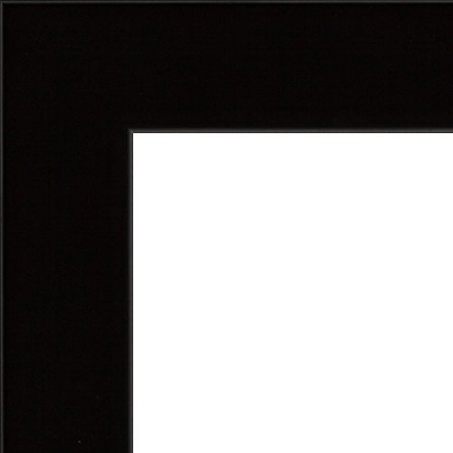 Effect fotolijst Puppis fotolijst hout kunststofglas met achterwand DIN A0 zwart