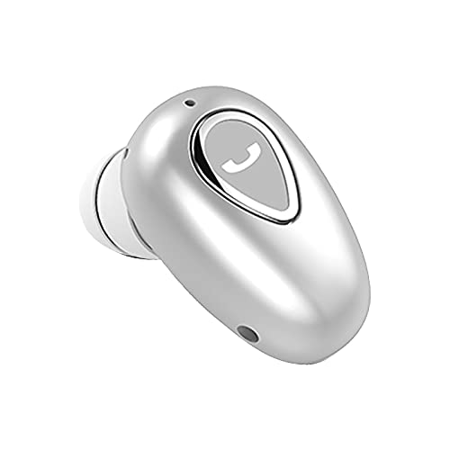 Auriculares Bluetooth Deportivos Mini de Portátil, Auriculares inalámbricos Bluetooth, Sonido Estéreo Auricular, Micrófono Incorporado, Control Táctil, para Viajes/Deporte Espera Extra Larga