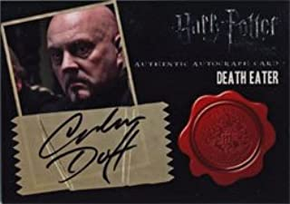 Harry Potter Deathly Hallows Part 2 Autograph Card by Graham Duff