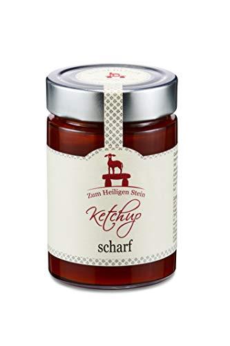 Ketchup scharf, Zum Heiligen Stein, Feinkostketchup, 3er Pack (3 x 400g)