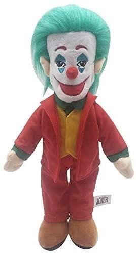 Fulinmen 1 unids 38cm Movie Joker Joker Muñeca Juguete Lindo Joker Peluche Toys Relleno Muñeca Regalos for niños Niños