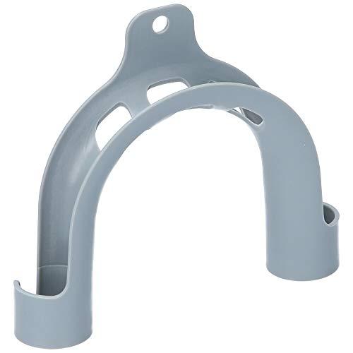 Kenekos - Haltebogen, universal für Ablaufschlauch kompatibel mit Waschmaschine/Spülmaschine - PVC-Bogen für Abwasserschlauch. Wandhalterung für Schläuche mit Durchmesser 19mm-25mm