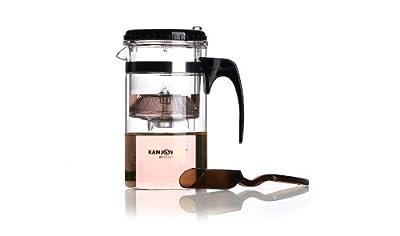 Kamjove Press Art Tp-200 Glass Tea Cup Kung Fu Tea Pot With Filter