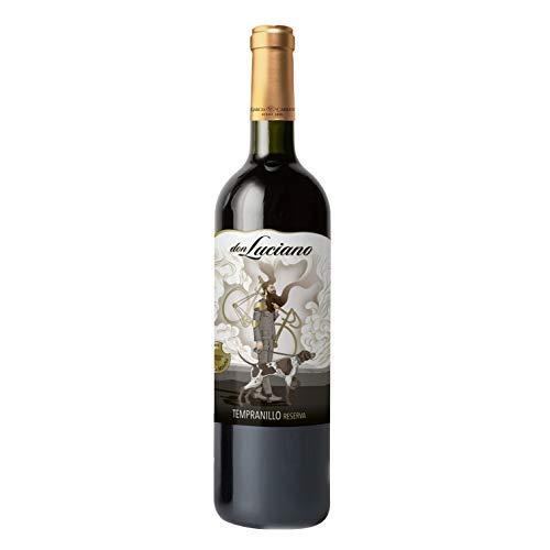 Don Luciano Reserva D.O La Mancha. Vino Tinto - Pack de 6 Botellas x 750 ml