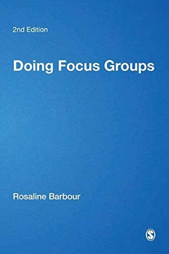 Doing Focus Groups Qualitative Research Kit product image