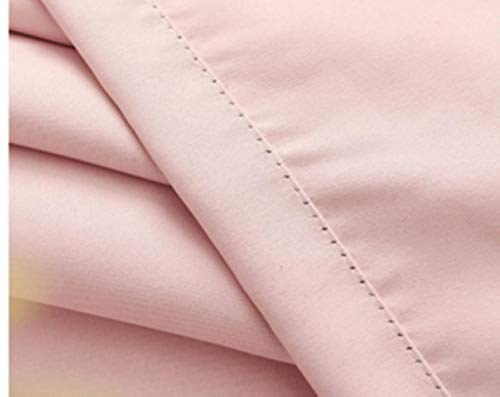 Koreaanse pastorale roze verduisterende prinses gordijnen voor meisjes kinderen woonkamer slaapkamer ramen behandeling pure tule romantische scherm, roze, W200xL260cm