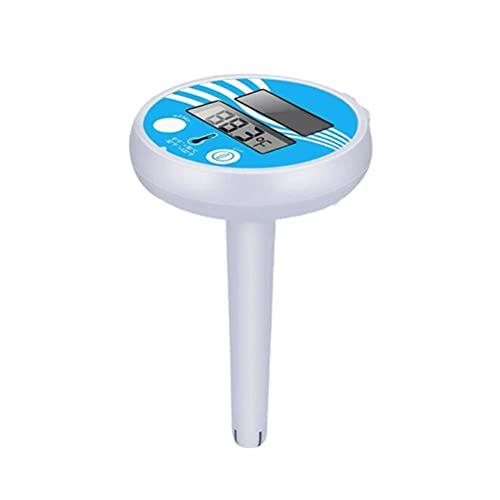 Termómetro de piscina inalámbrico flotante digital flotante para piscina y spa para exteriores e interiores, spas, jacuzzi, estanques