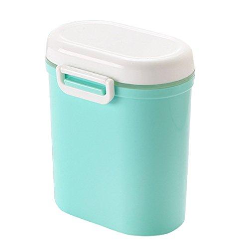 Benradise Portable Babynahrung Milchpulver Box Snack Container Milchpulverspender Aufbewahrung