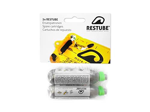 Restube Bombona Recambio Inflable de Un Sólo Uso Inflador CO2 de 16g para Boya de...