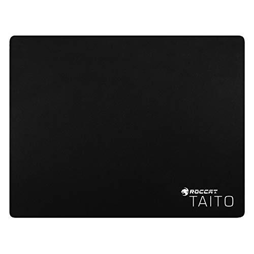 ROCCAT Taito Tapis de Souris Gaming Format Intermédiaire - nanostructure Textile à Traitement Thermique, Revers caoutchouteux, matériau Haute durée de Vie (400mm x 320mm x 3mm)