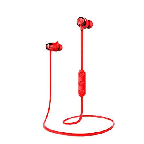 QLMY Magnetische zuigbuis, super lange stand-by nekbeugelkoptelefoon, ultra licht, oordopjes, ruisonderdrukking microfoon, geschikt voor hardlopen, fitnessruimte, reizen