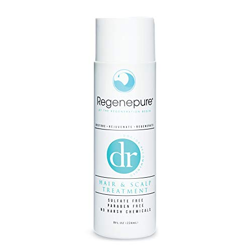 REGENEPURE, DR Shampoo Hair and Scalp Treatment, Cleanses and Supports Hair Growth, 8 oz