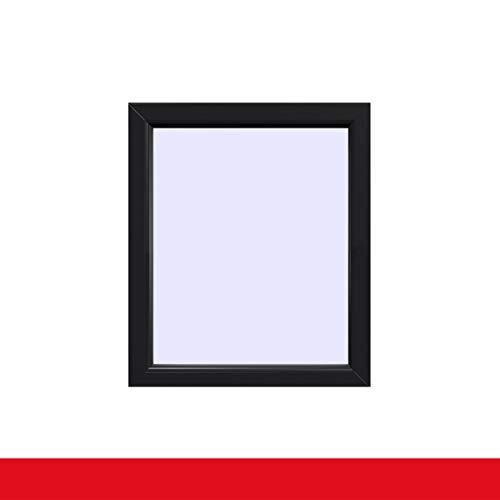 Festverglasung einflügeliges Fenster   Anthrazitgrau Glatt
