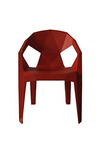 KADIMA DESIGN 2X siège d'orange Spacy 81 x 57 x 55