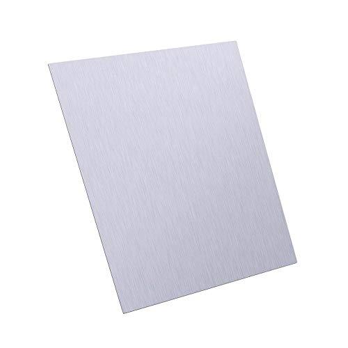 NO LOGO FMN-Tape, 1pc Pure Zinc Zn Hoja de Plancha Resistente 100x100x0.5mm la Hoja de Metal for la Ciencia