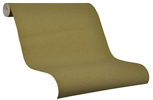 Vliestapete Grün - einfarbig - Modern und grüne Tapete - für Wohnzimmer, Schlafzimmer Kinderzimmer Flur oder Küche - dunkel, grün, tannengrün - Made in Germany - 10,05 m x 0,53m - Novamur