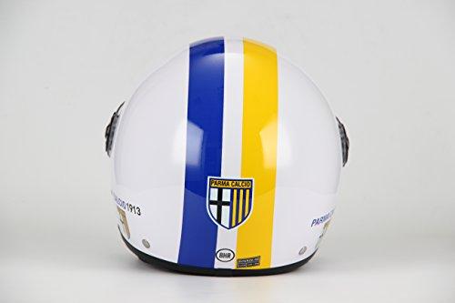 BHR 62877 Casco Demi-Jet Linea One Modello Calcio, Parma Calcio 801, S