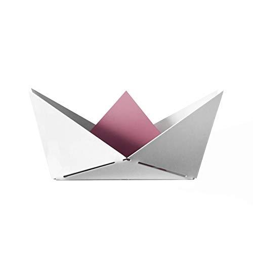 Fenel & Arno – Barco origami de metal – Vacío – Oficina – cuarto de baño – SURLO