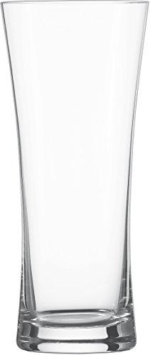 Schott Zwiesel Beer Basic 6-teiliges Lagerglas Bierglas Set, Kristall, farblos, 8.75 cm, 6-Einheiten