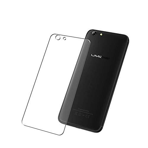 Vaxson 2-Pack TPU Pellicola Protettiva Posteriore, compatibile con Umidigi C Note 2, Back Film Protector Skin Cover Copertina [ Non Vetro Temperato ]