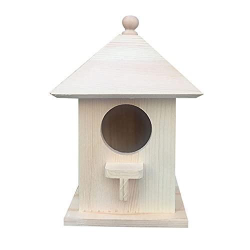 Petyoung Hängen Holz Wilden Vogel Haus Hause Haustier Garten Liefert Produkte Geeignet Wunderbare Geschenk für Kleine Tier Liebhaber