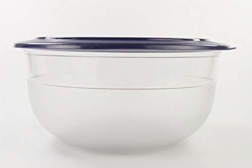 Tupperware Tafelperle 6,0L blau OHNE Rand Maxi Schale Servieren Classic Royal