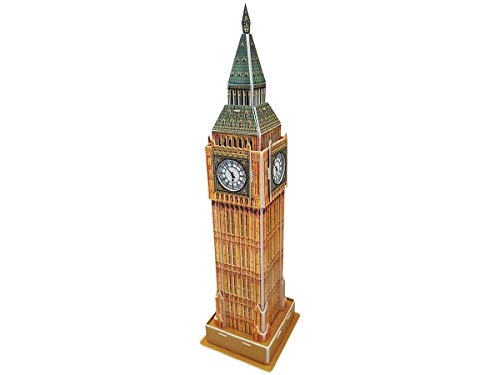 Playtive 3D Puzzle - die weltberühmte Sehenswürdigkeit zum Nachbauen Big Ben