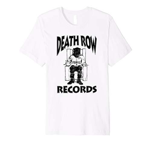 Death Row Records Black Logo T-shirt
